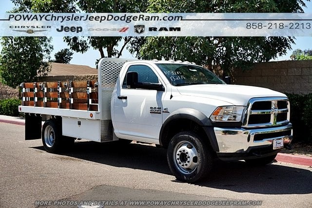 2018 Ram 4500 Regular Cab DRW 4x2,  Scelzi Stake Bed #CX16371 - photo 6