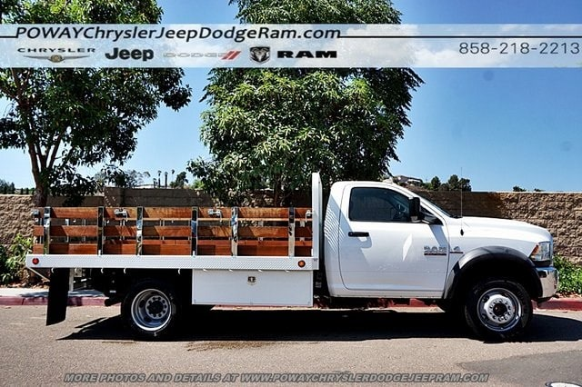 2018 Ram 4500 Regular Cab DRW 4x2,  Scelzi Stake Bed #CX16371 - photo 7
