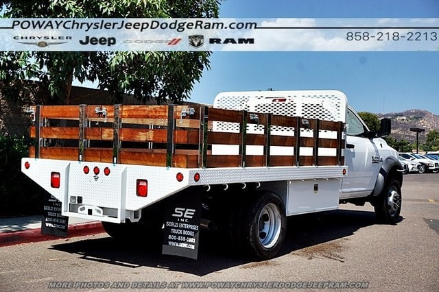 2018 Ram 4500 Regular Cab DRW 4x2,  Scelzi Stake Bed #CX16371 - photo 2