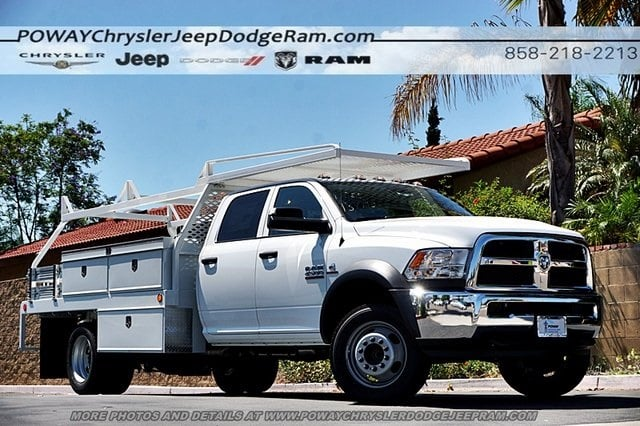 2018 Ram 4500 Crew Cab DRW 4x2,  Scelzi Contractor Body #CX16466 - photo 1