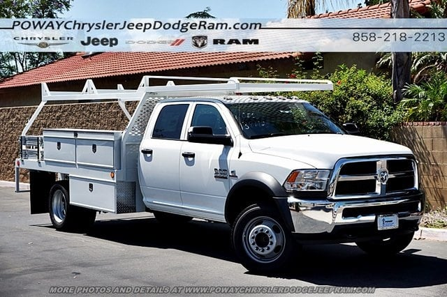 2018 Ram 4500 Crew Cab DRW 4x2,  Scelzi Contractor Body #CX16466 - photo 3