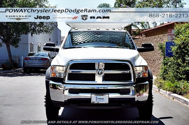 2018 Ram 4500 Crew Cab DRW 4x2,  Scelzi Contractor Body #CX16466 - photo 5