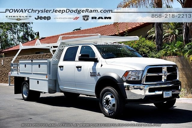 2018 Ram 4500 Crew Cab DRW 4x2,  Scelzi Contractor Body #CX16466 - photo 6
