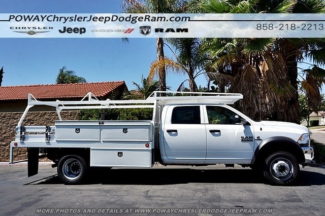 2018 Ram 4500 Crew Cab DRW 4x2,  Scelzi Contractor Body #CX16466 - photo 7