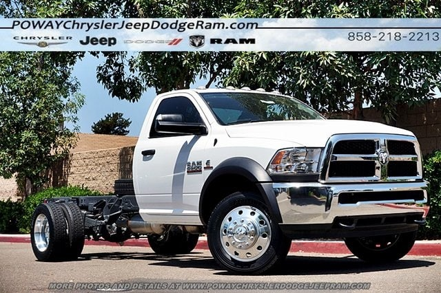 2017 Ram 4500 Regular Cab DRW 4x2,  Cab Chassis #CX16467 - photo 1