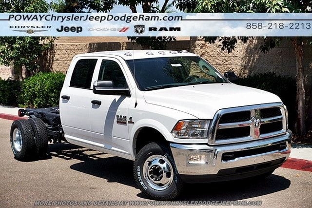 2018 Ram 3500 Crew Cab DRW 4x4,  Cab Chassis #CX16475 - photo 3
