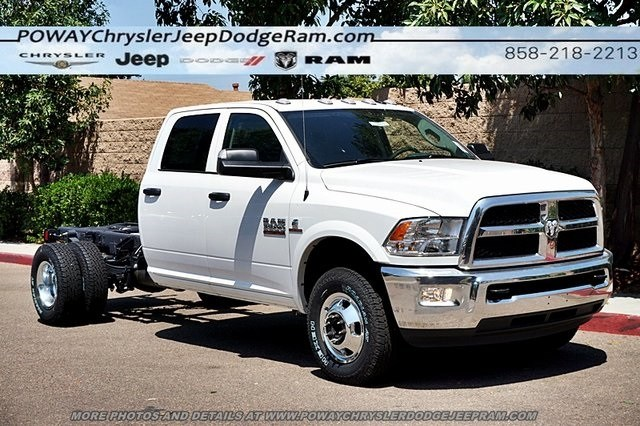 2018 Ram 3500 Crew Cab DRW 4x4,  Cab Chassis #CX16475 - photo 6