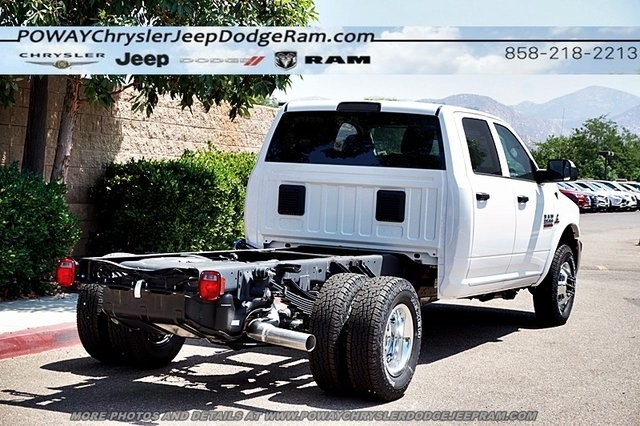 2018 Ram 3500 Crew Cab DRW 4x4,  Cab Chassis #CX16475 - photo 2