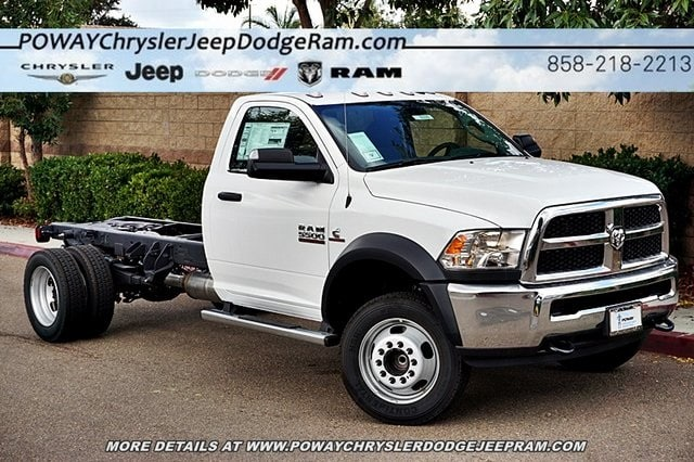 2018 Ram 5500 Regular Cab DRW 4x2,  Cab Chassis #CX16646 - photo 3
