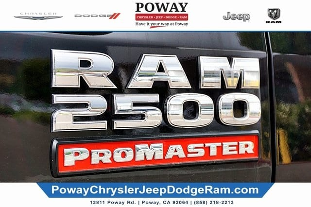 2019 ProMaster 2500 High Roof FWD,  Empty Cargo Van #CX16809 - photo 8