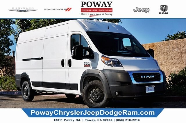 2019 ProMaster 2500 High Roof FWD, Empty Cargo Van #CX17411 - photo 1