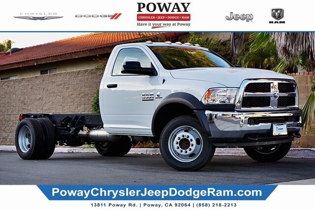 2018 Ram 5500 Regular Cab DRW 4x2, Cab Chassis #CX17421 - photo 1