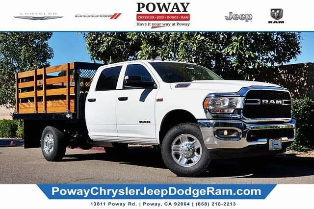 2019 Ram 3500 Crew Cab 4x2, Custom Truck Body & Equipment Stake Bed #CX17433 - photo 1