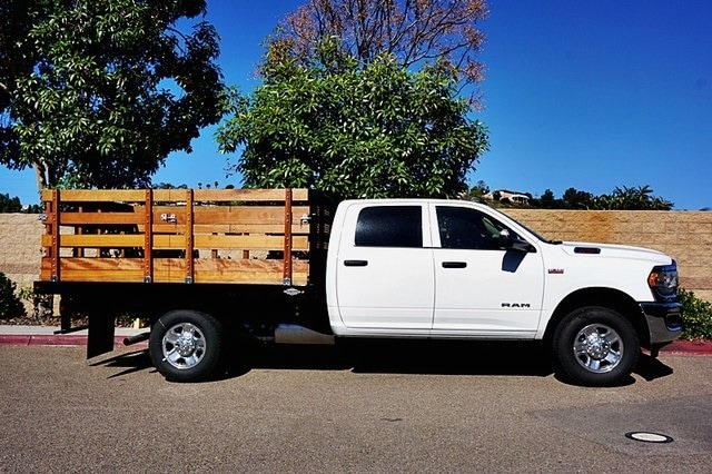 2019 Ram 3500 Crew Cab 4x2, Custom Truck Body & Equipment Stake Bed #CX17433 - photo 7
