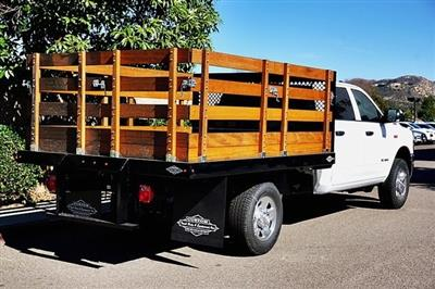 2019 Ram 3500 Crew Cab 4x2, Custom Truck Body & Equipment Stake Bed #CX17433 - photo 2