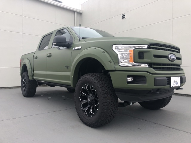 2018 F-150 SuperCrew Cab 4x4,  Pickup #F444 - photo 4