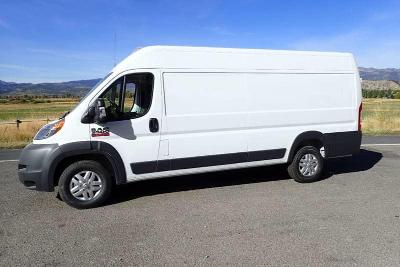 2018 ProMaster 3500 High Roof FWD,  Empty Cargo Van #NJ110 - photo 3