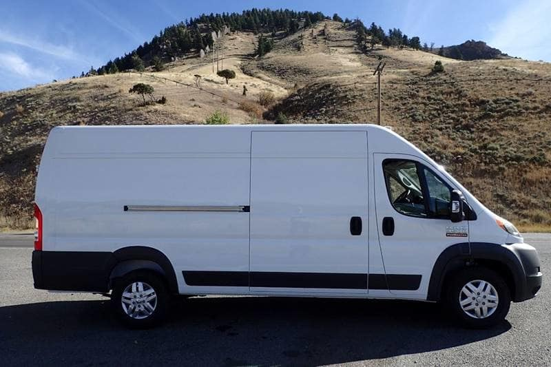 2018 ProMaster 3500 High Roof FWD,  Empty Cargo Van #NJ110 - photo 5
