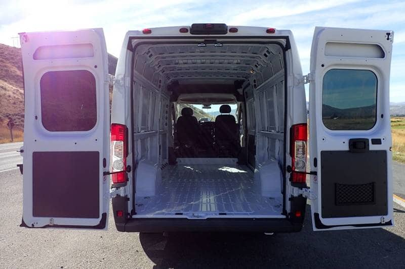 2018 ProMaster 3500 High Roof FWD,  Empty Cargo Van #NJ110 - photo 2