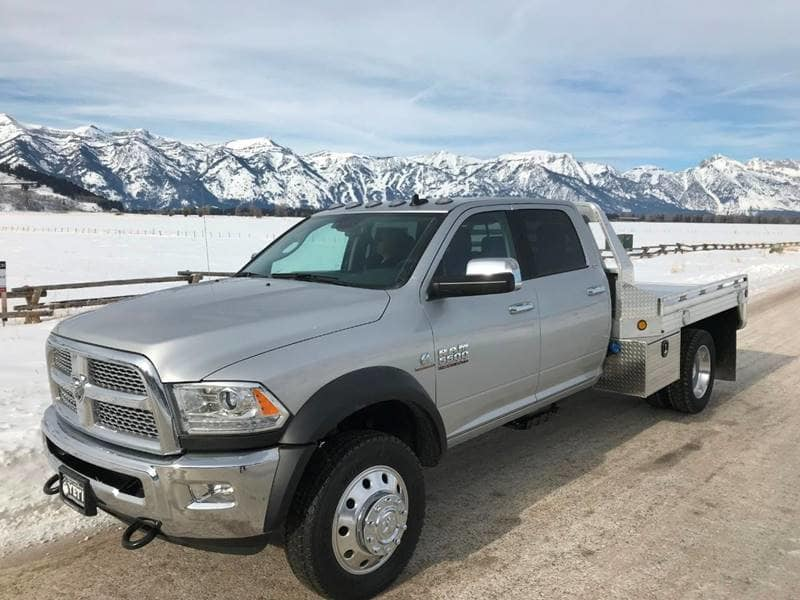 2018 Ram 5500 Crew Cab DRW 4x4,  Platform Body #NJ251 - photo 3
