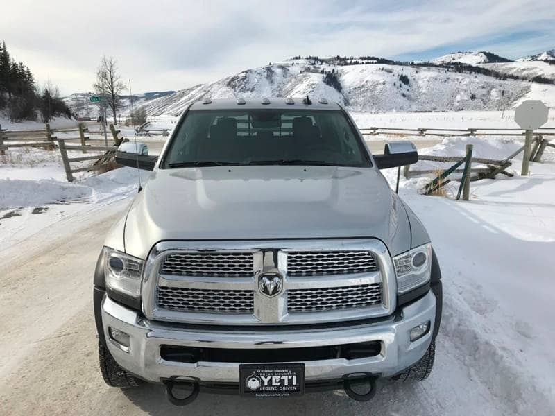 2018 Ram 5500 Crew Cab DRW 4x4,  Platform Body #NJ251 - photo 6