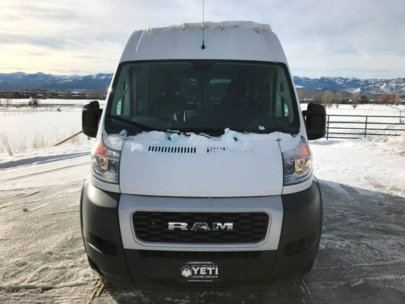 2019 ProMaster 2500 High Roof FWD,  Empty Cargo Van #NJ280 - photo 3