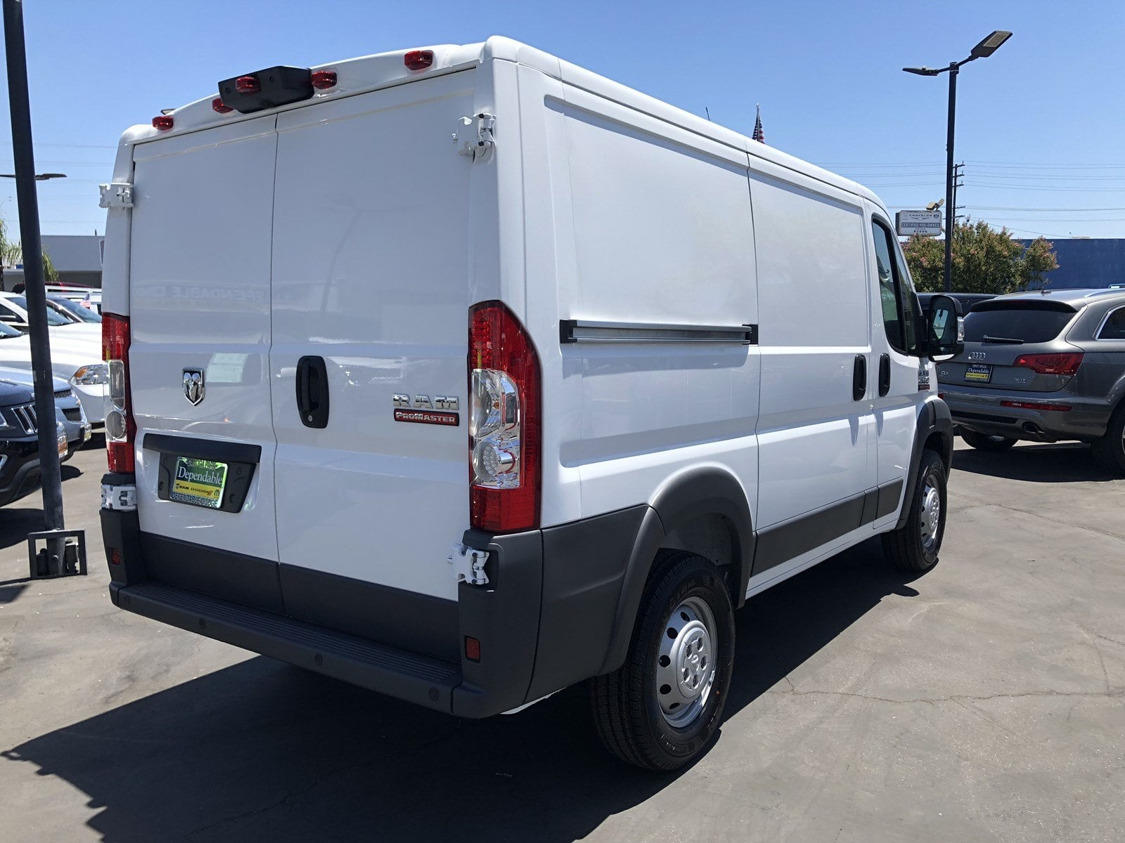 2018 ProMaster 1500 Standard Roof FWD,  Empty Cargo Van #29977 - photo 2