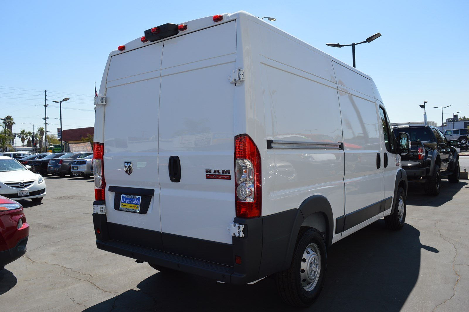 2018 ProMaster 2500 High Roof FWD,  Empty Cargo Van #30063 - photo 2