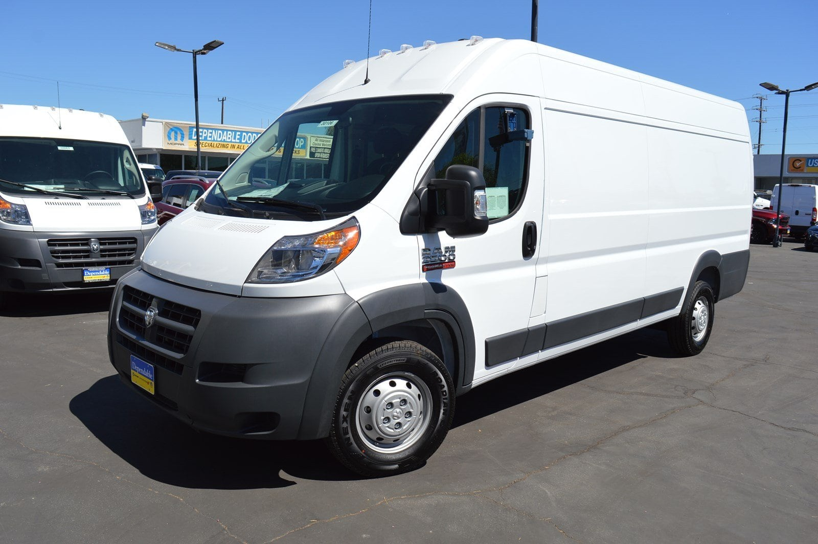 2018 ProMaster 3500 High Roof FWD,  Empty Cargo Van #30106 - photo 4