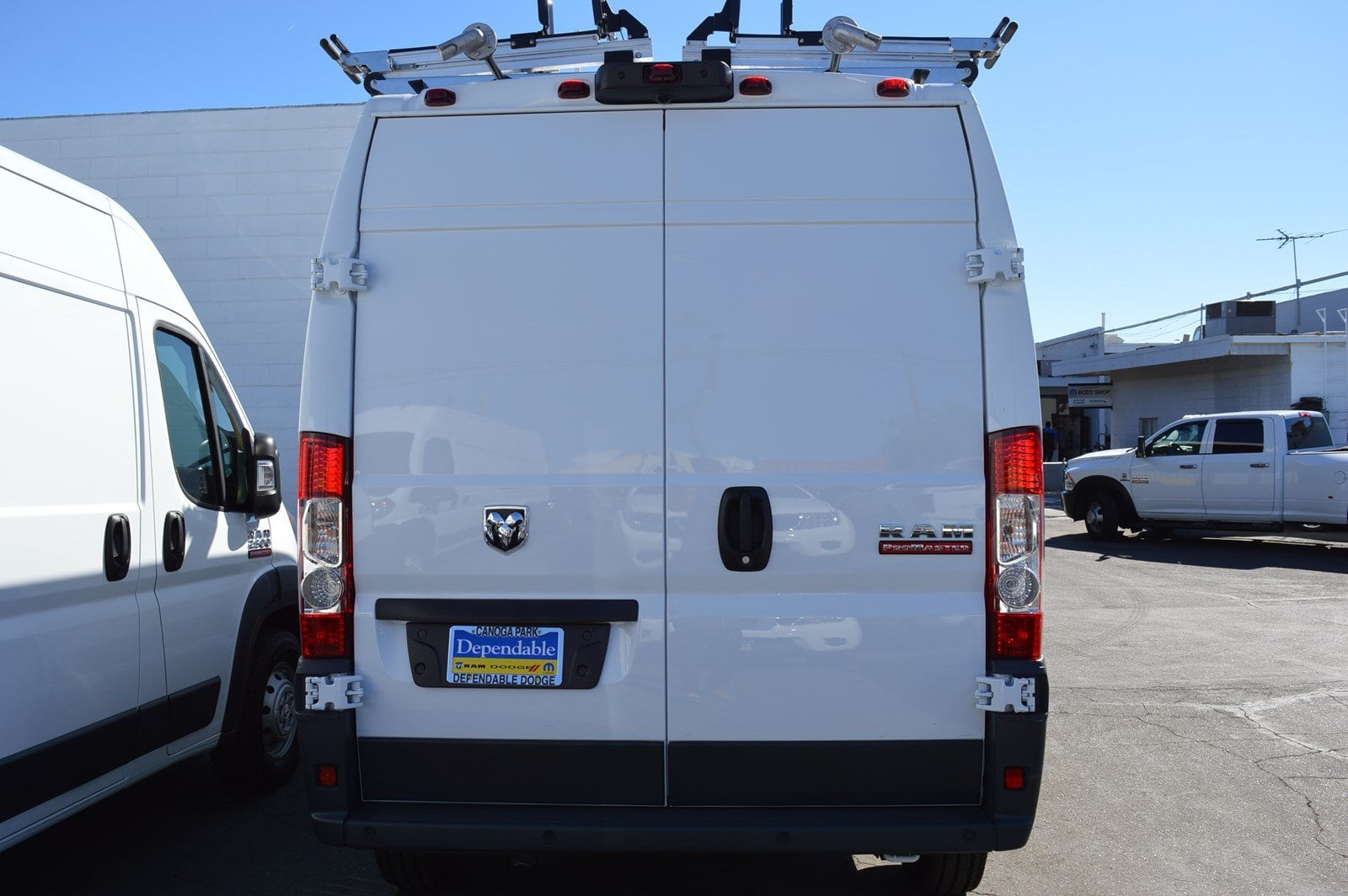 2018 ProMaster 2500 High Roof FWD,  Adrian Steel Upfitted Cargo Van #30188 - photo 5