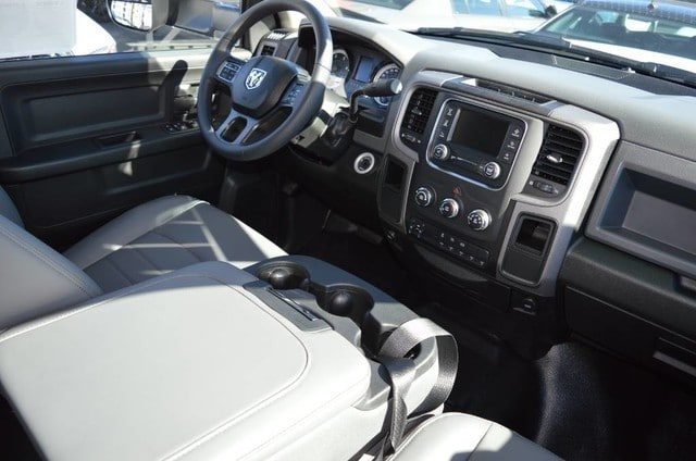 2018 Ram 3500 Crew Cab DRW 4x2,  Scelzi Stake Bed #30218 - photo 4