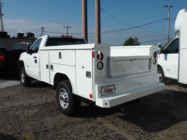 2017 Sierra 2500 Regular Cab 4x4,  Reading Service Body #G171428 - photo 2