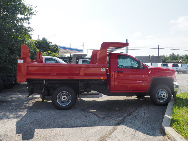 2017 Sierra 3500 Regular Cab 4x4,  Rugby Dump Body #G171429 - photo 3