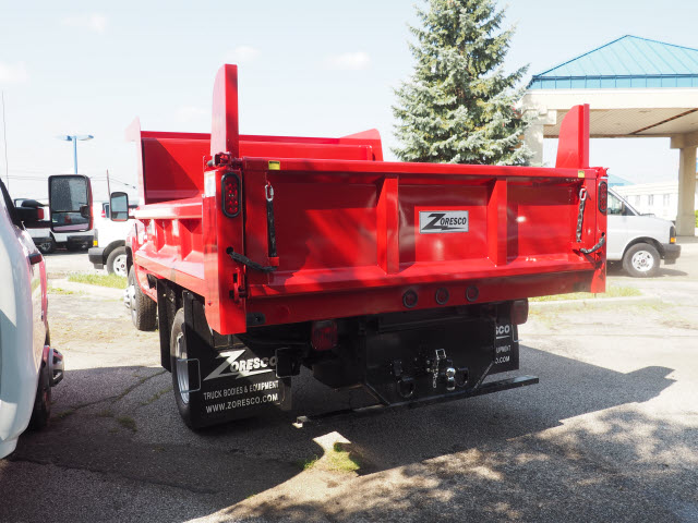 2017 Sierra 3500 Regular Cab 4x4,  Rugby Dump Body #G171429 - photo 2