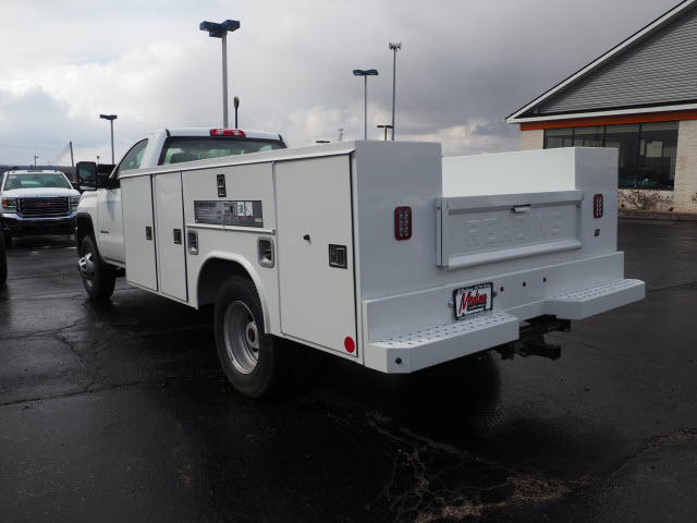 2018 Sierra 3500 Regular Cab 4x4,  Reading SL Service Body #G180744 - photo 2