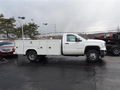 2018 Sierra 3500 Regular Cab 4x4,  Reading SL Service Body #G180744 - photo 3