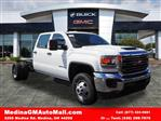 2018 Sierra 3500 Crew Cab 4x4,  Cab Chassis #G180970 - photo 1