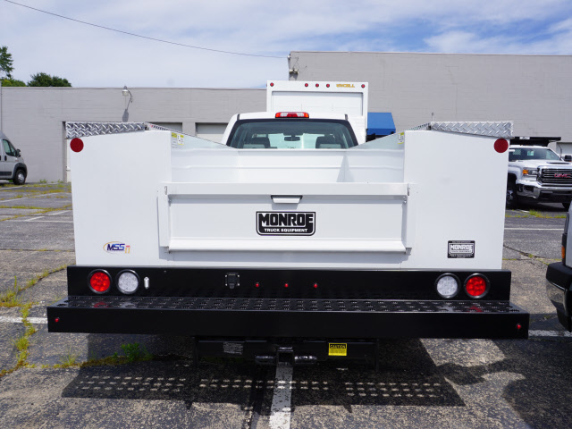 2018 Sierra 3500 Crew Cab 4x4,  Monroe Service Body #G181595 - photo 2
