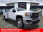 2018 Sierra 3500 Crew Cab 4x4,  Monroe Service Body #G181595 - photo 1