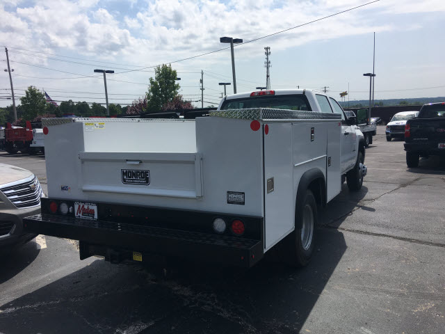 2018 Sierra 3500 Crew Cab 4x4,  Monroe Service Body #G181596 - photo 2
