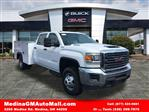 2018 Sierra 3500 Crew Cab 4x4,  Monroe Service Body #G181596 - photo 1