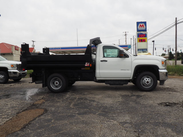 2018 Sierra 3500 Regular Cab 4x4,  Monroe Dump Body #G181830 - photo 3
