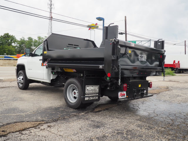 2018 Sierra 3500 Regular Cab 4x4,  Monroe Dump Body #G181830 - photo 2
