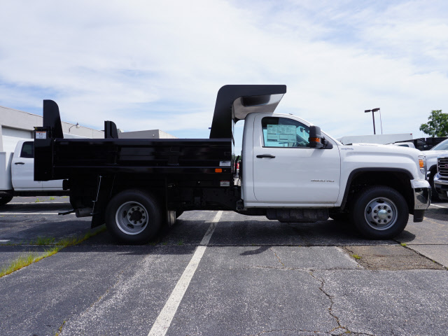 2018 Sierra 3500 Regular Cab 4x4,  Rugby Dump Body #G181864 - photo 3