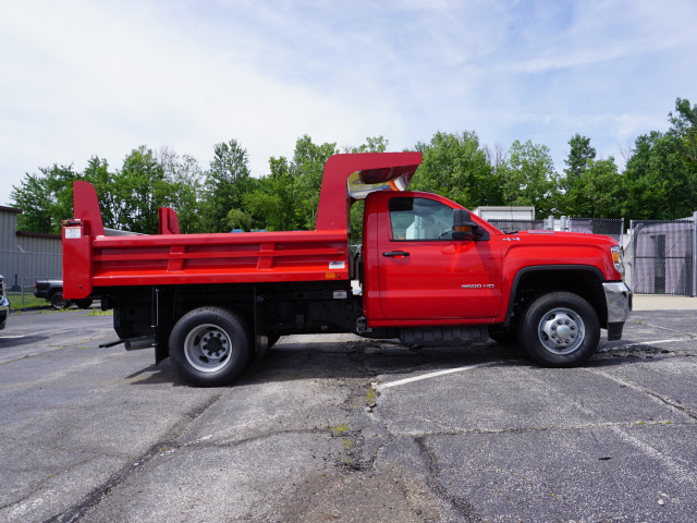 2018 Sierra 3500 Regular Cab 4x4,  Rugby Dump Body #G181869 - photo 3
