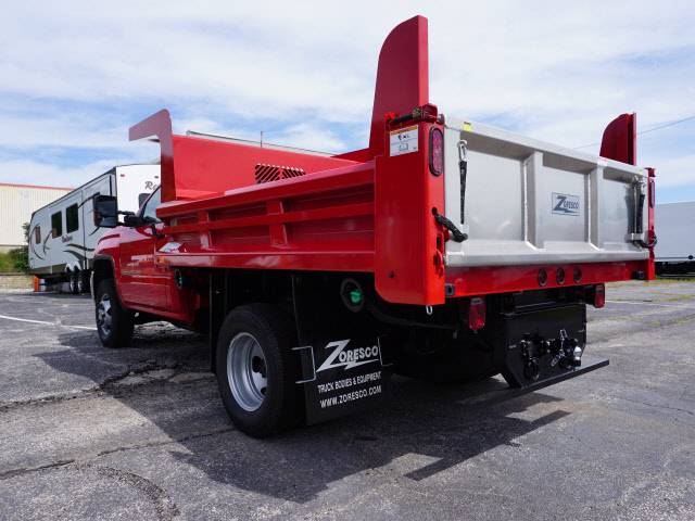 2018 Sierra 3500 Regular Cab 4x4,  Rugby Dump Body #G181869 - photo 2