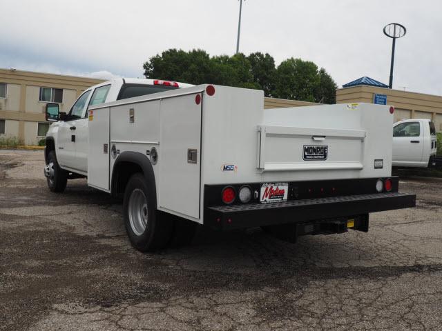 2018 Sierra 3500 Crew Cab 4x4,  Monroe Service Body #G181978 - photo 2