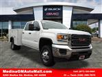 2018 Sierra 3500 Crew Cab 4x4,  Monroe Service Body #G181978 - photo 1
