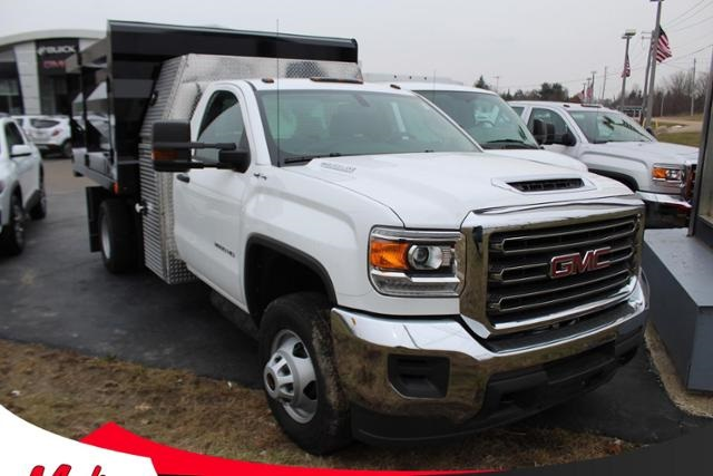 2019 GMC Sierra 3500 Regular Cab DRW 4x4, Rugby Landscape Dump #G191365 - photo 1