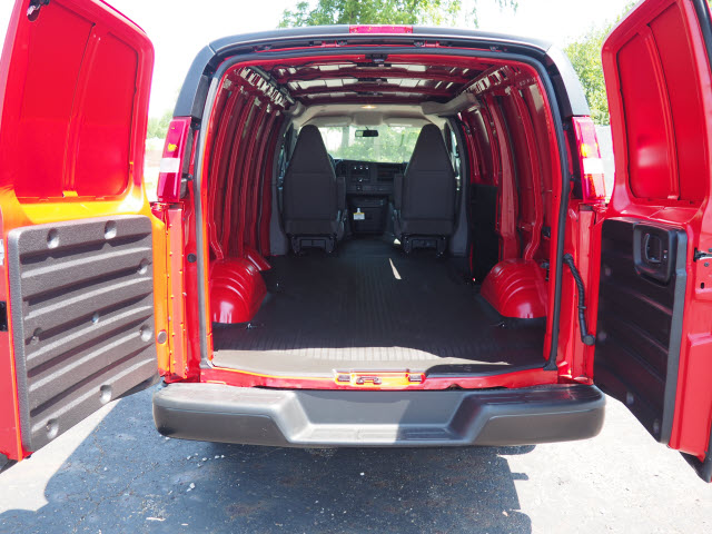 2019 Savana 3500 4x2, Empty Cargo Van #G192188 - photo 1